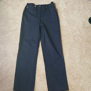 St John navy blue size 4 pants